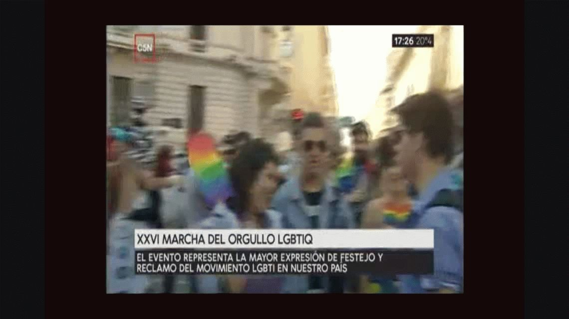 Así fue la XXVI Marcha del Orgullo Gay en Buenos Aires