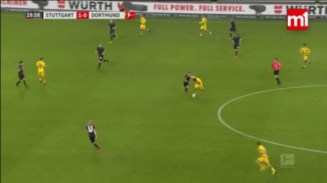 Atento, Sampaoli: la pegajosa marca que hizo enervar al alemán Mario Götze