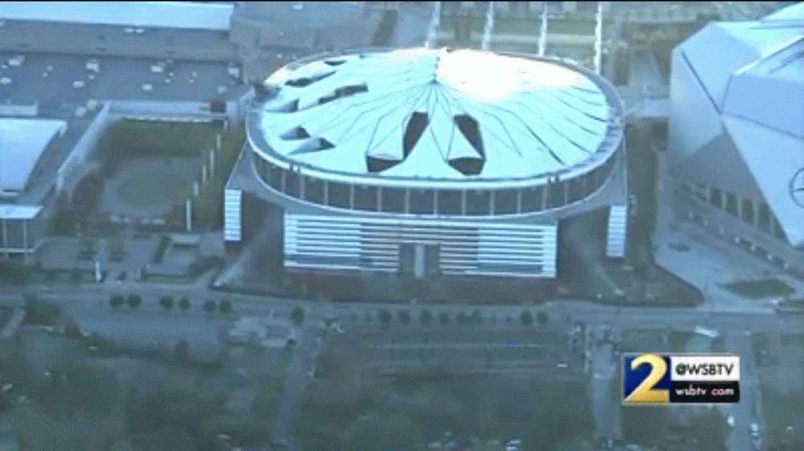 Así fue la impresionante demolición de un estadio ¡en 30 segundos!