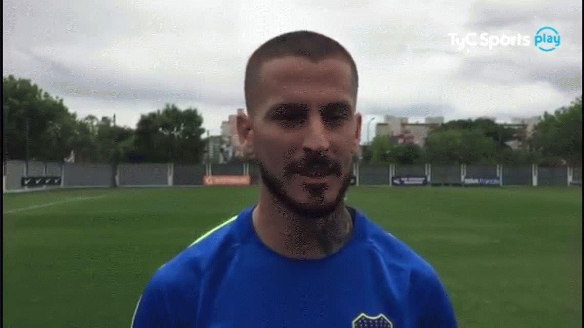 El mensaje de apoyo más emotivo que recibió Darío Benedetto tras su lesión