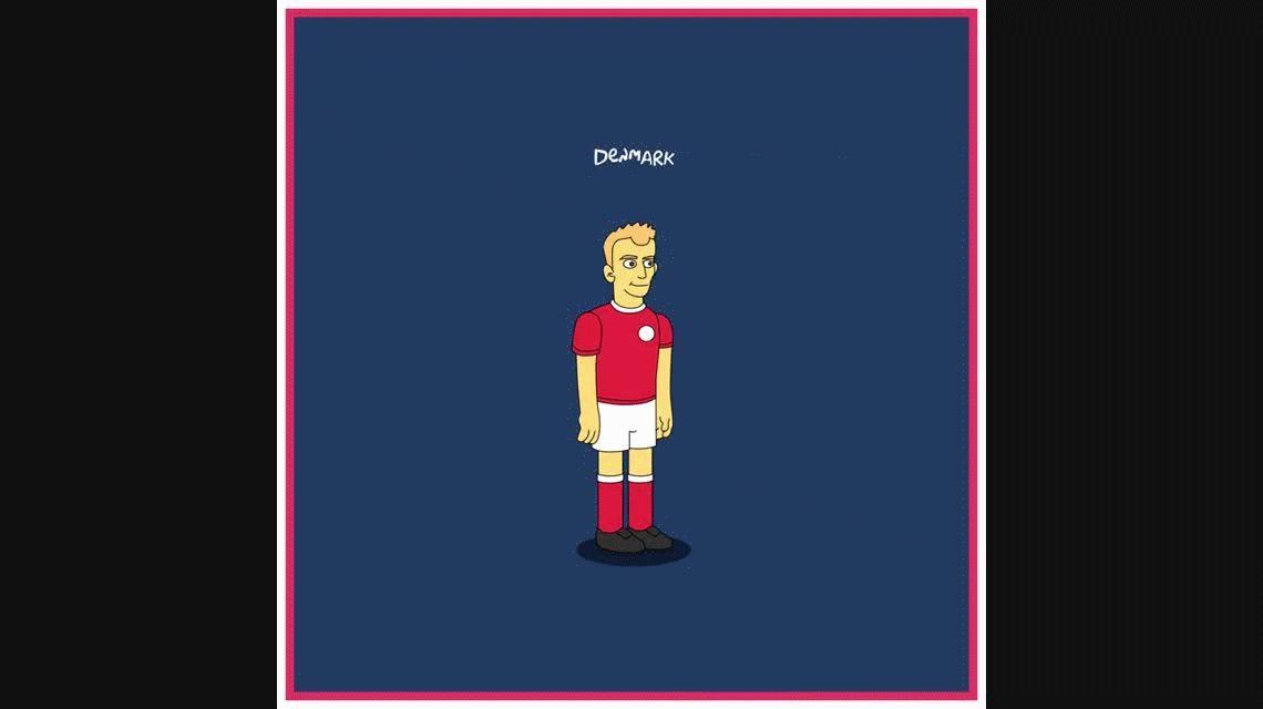 Las 32 Selecciones del Mundial, según Los Simpsons: ¿cómo sería Messi en versión amarilla?