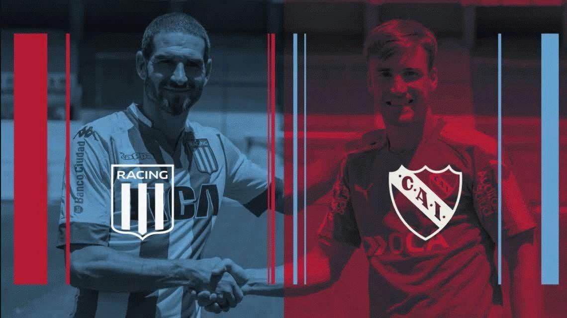 Independiente y Racing dejaron un mensaje claro en contra de la violencia
