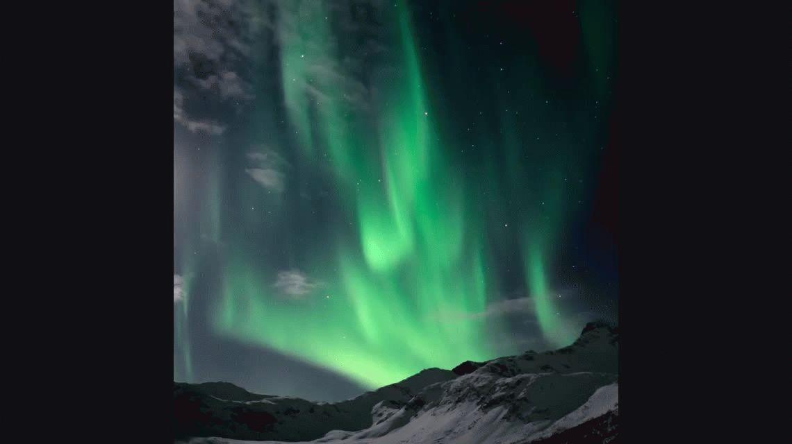 Arrancó la temporada para ver la aurora boreal en Noruega