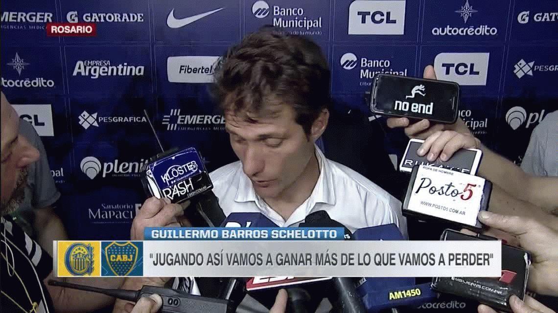Para Guillermo Barros Schelotto, Boca debió haber empatado