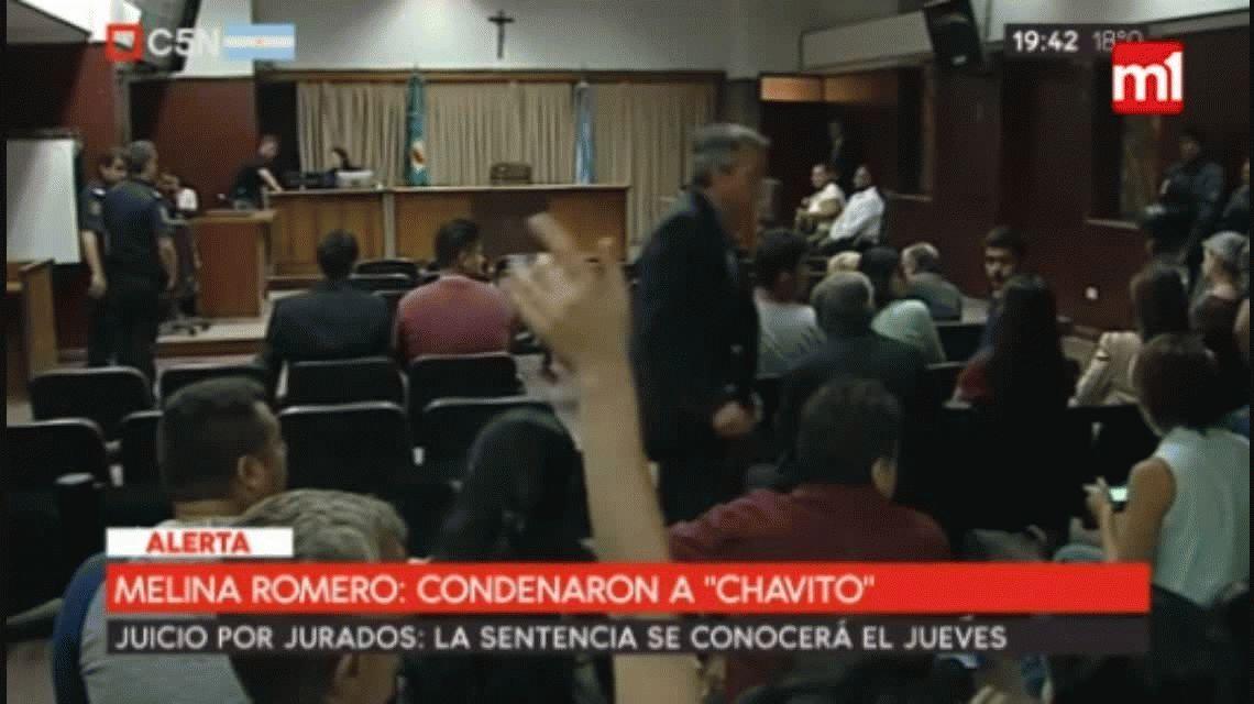 VIDEO: El llanto de Chavito tras ser condenado por el femicidio de Melina