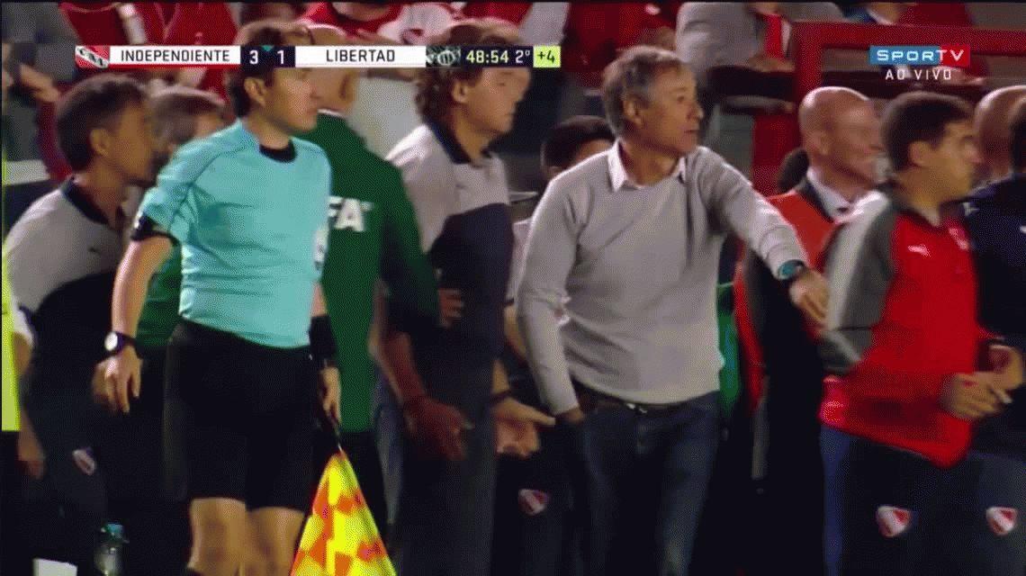El alocado festejo de Independiente tras llegar a la final de la Sudamericana