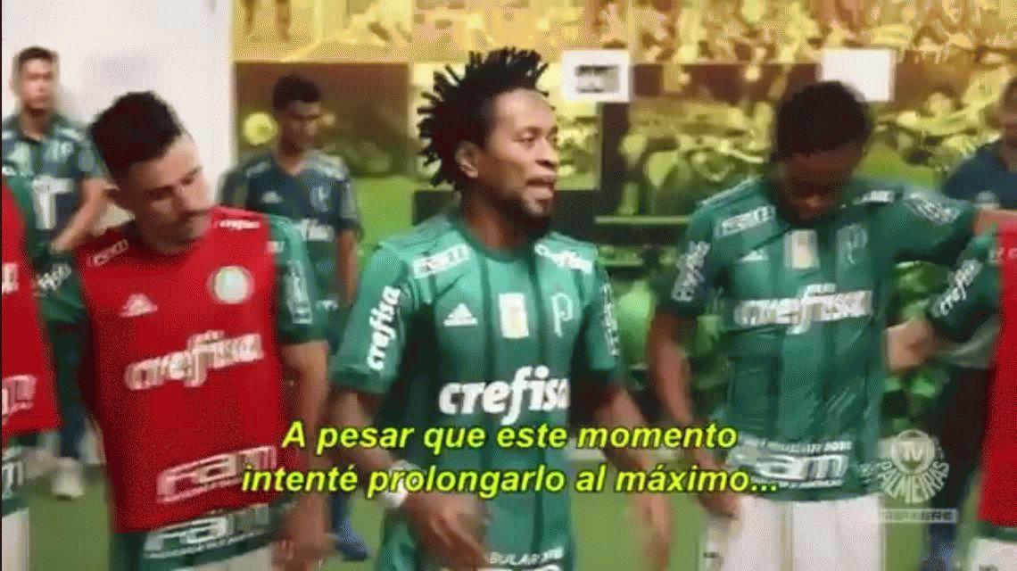 Se retiró el brasileño Zé Roberto y su última arenga te pone la piel de gallina