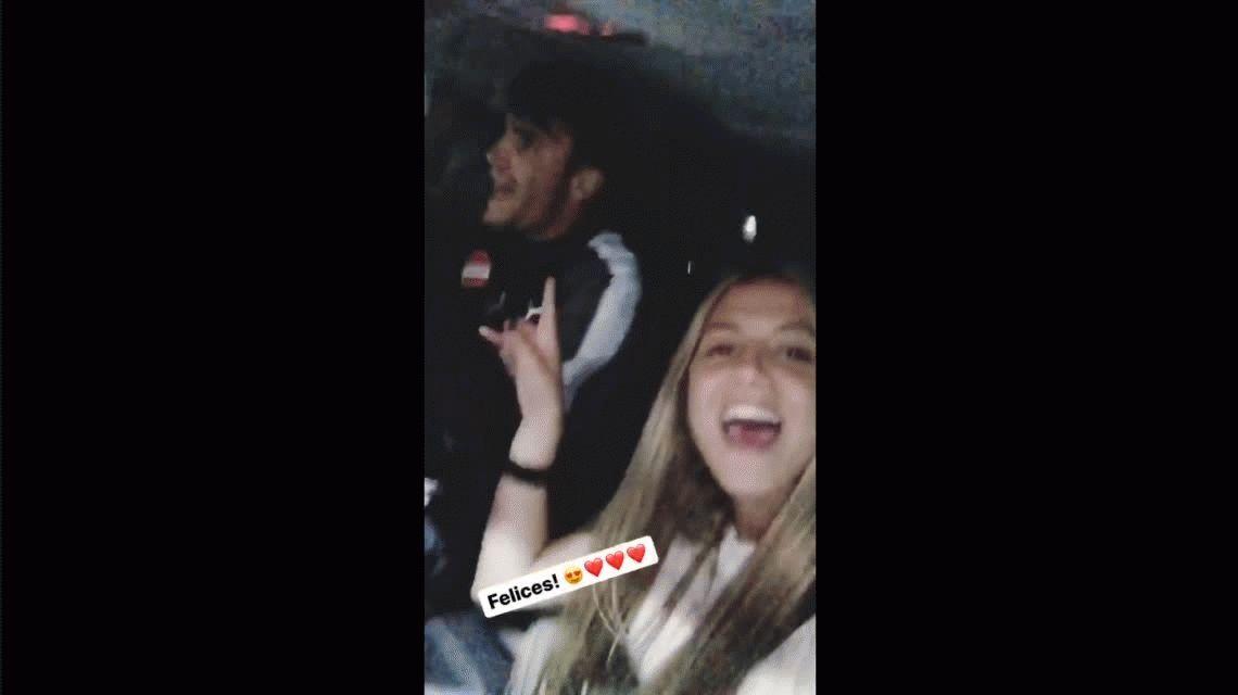 El festejo íntimo del capitán de Independiente con su novia tras el pase a la final