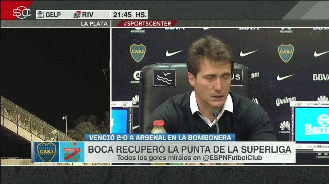 Guillermo: Jugamos con muchos juveniles pero seguimos siendo Boca
