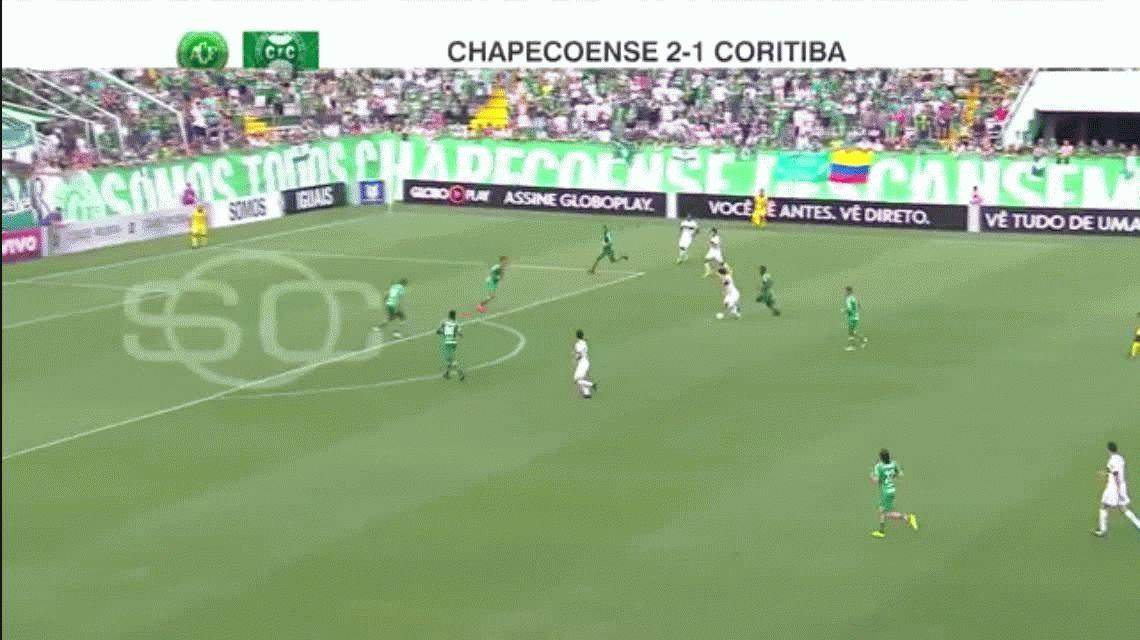 A un año de la tragedia, Chapecoense entró a la Libertadores y festejó con los sobrevivientes