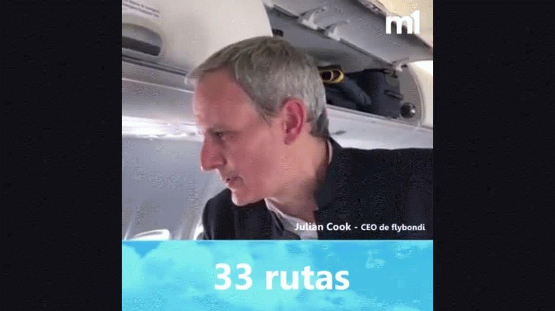Vuelos y precios de Flybondi, la primera aerolínea low-cost del país