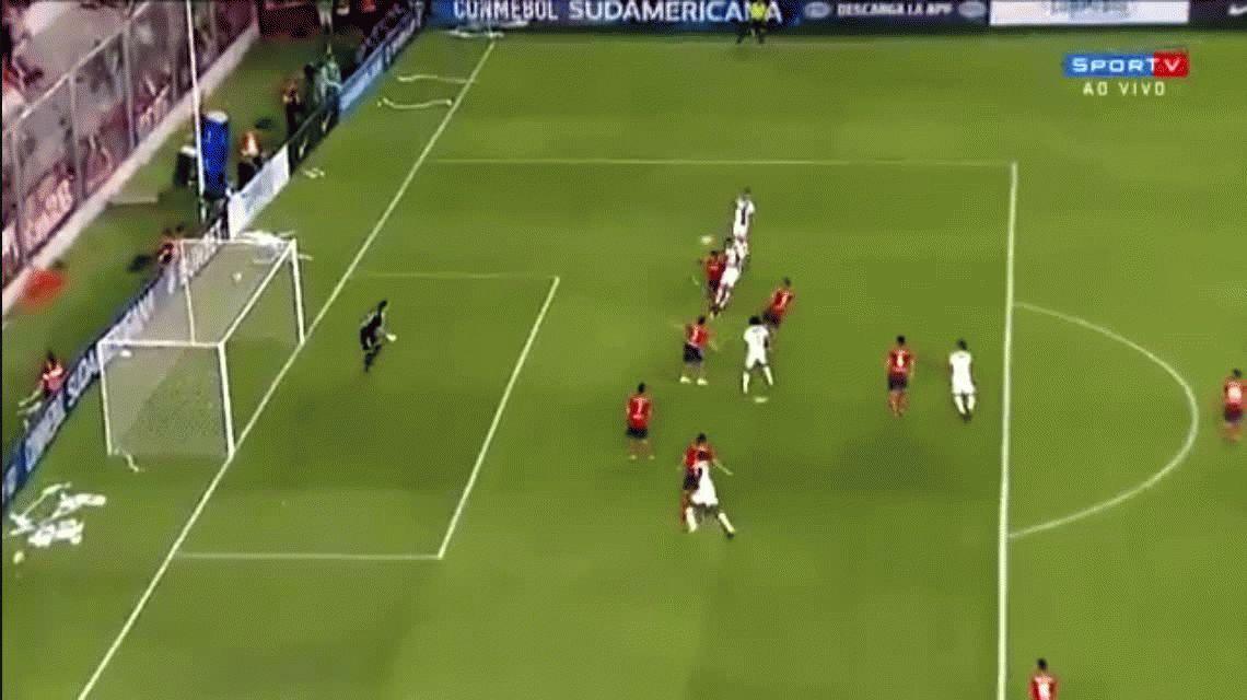 Independiente se lo dio vuelta a Flamengo y va con ventaja a definir la Copa Sudamericana a Brasil