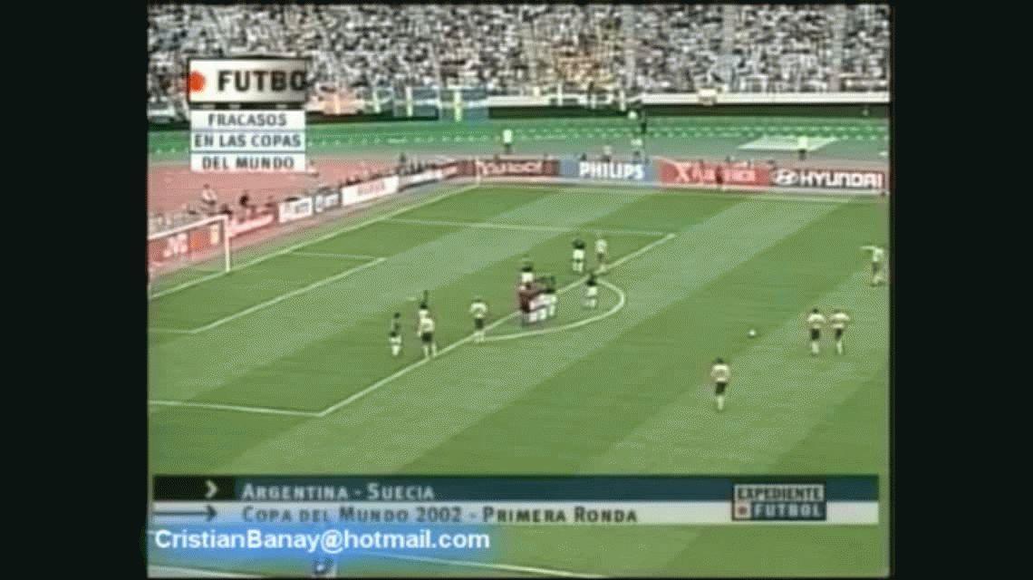 Sin filtro: Caniggia atendió duro a sus compañeros de la Selección en Corea-Japón 2002