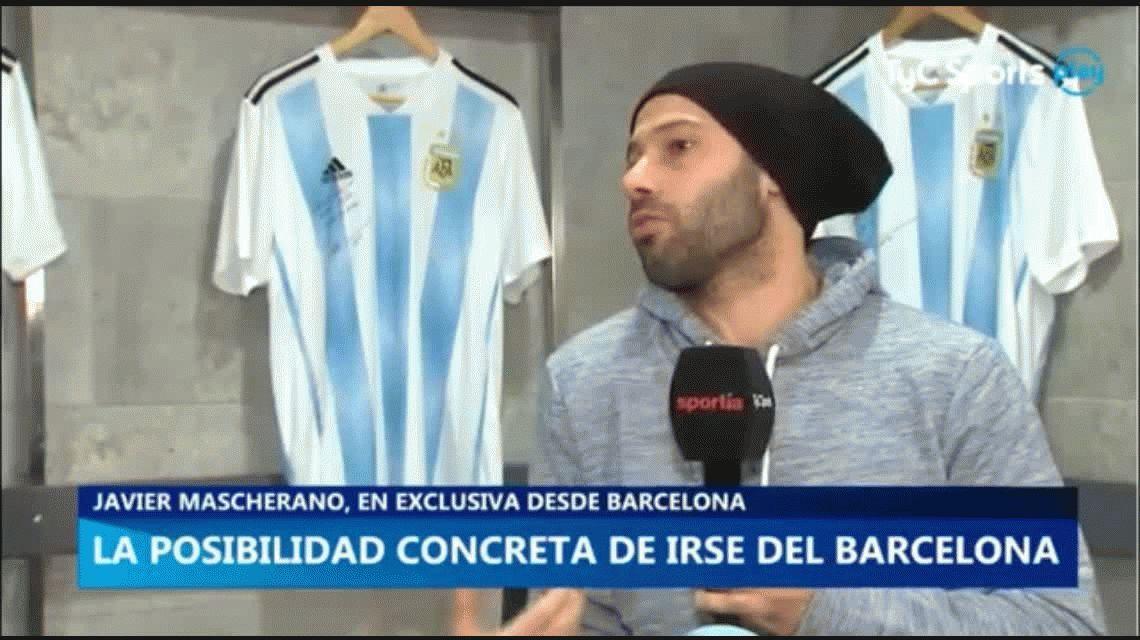 Mascherano, entre los rumores con el Barça, las lesiones y River