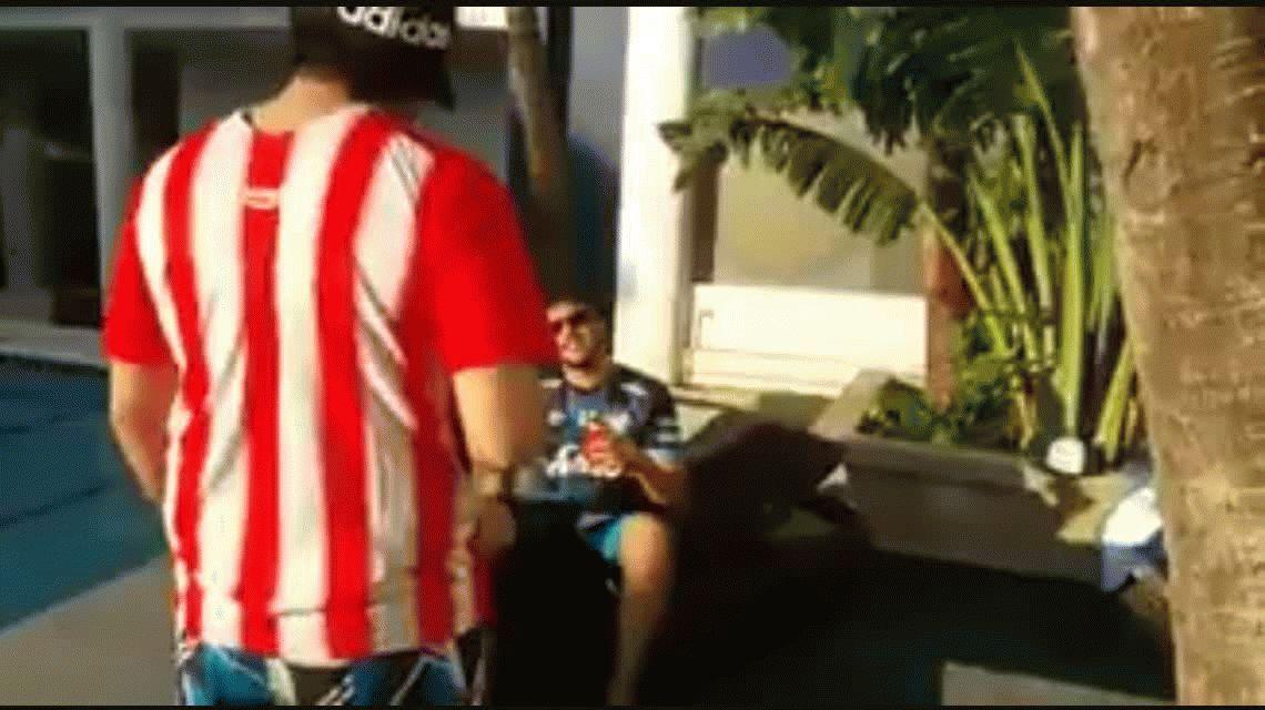 Fanatismo extremo: el video más emotivo de un hincha de Atlético Tucumán antes de la final