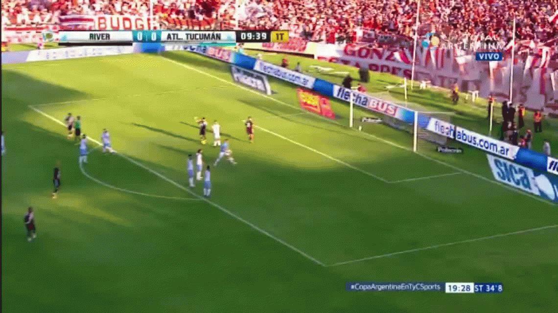 Mirá los goles de la final de la Copa Argentina entre River y Atlético Tucumán