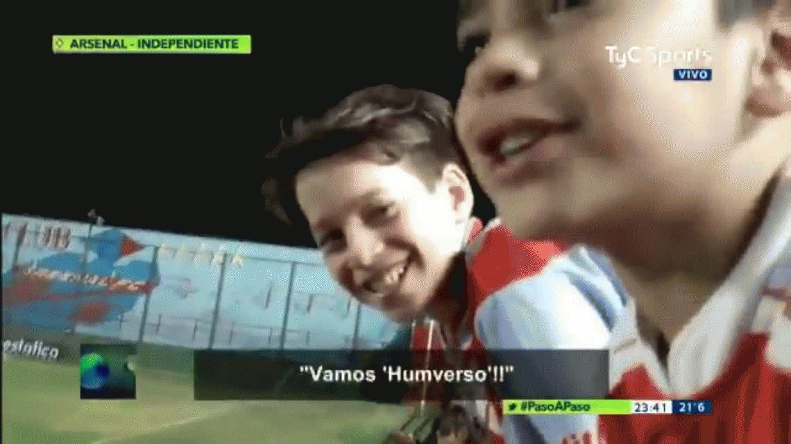 El ridículo apodo que le pusieron los hinchas de Arsenal a Humberto Grondona