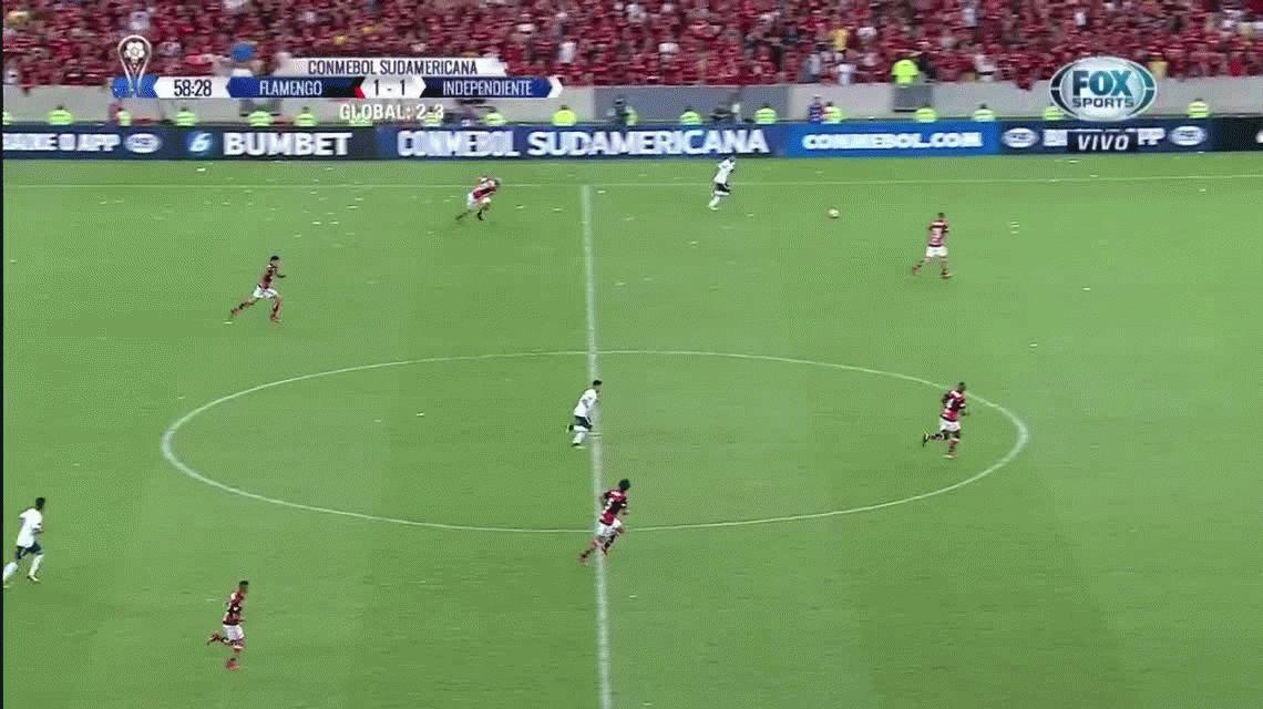 ¡Increíble! Gigliotti tuvo la jugada de gol para liquidar la final