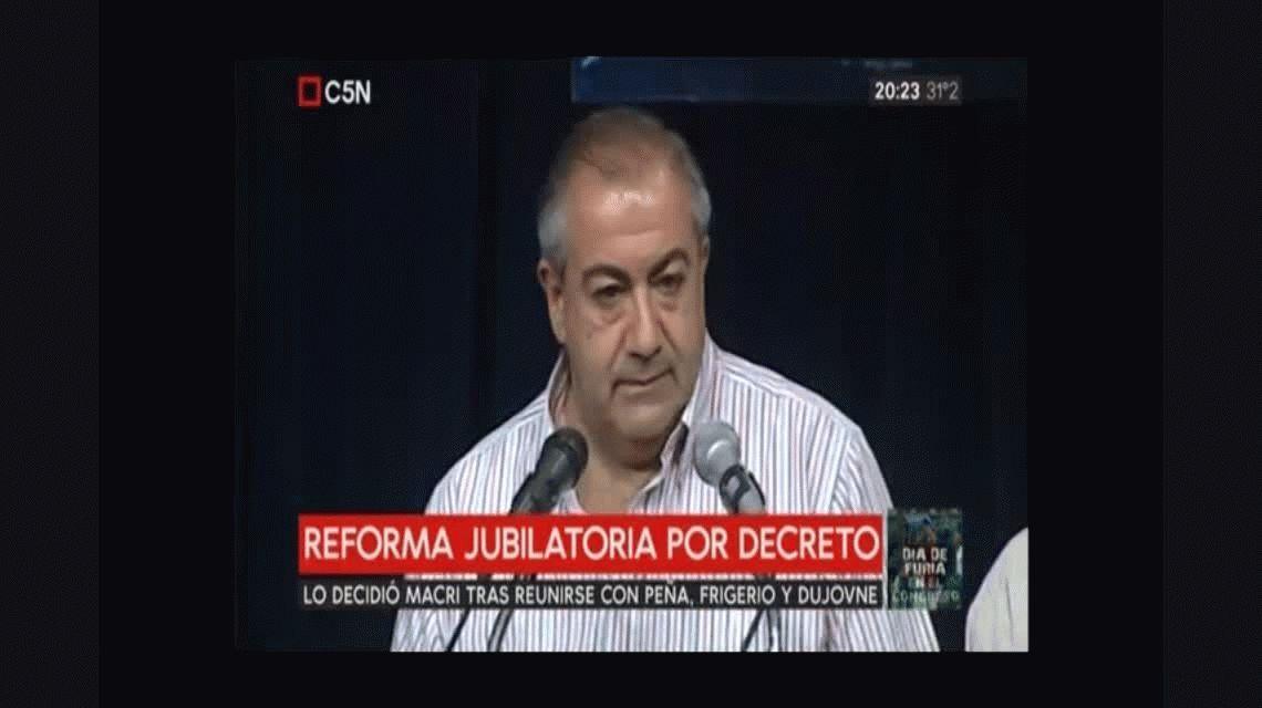 La CGT condiciona el paro nacional a la eventual firma del decreto para sacar la reforma por la fuerza