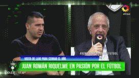 Riquelme le apostó un asado a Donofrio por la Supercopa Argentina