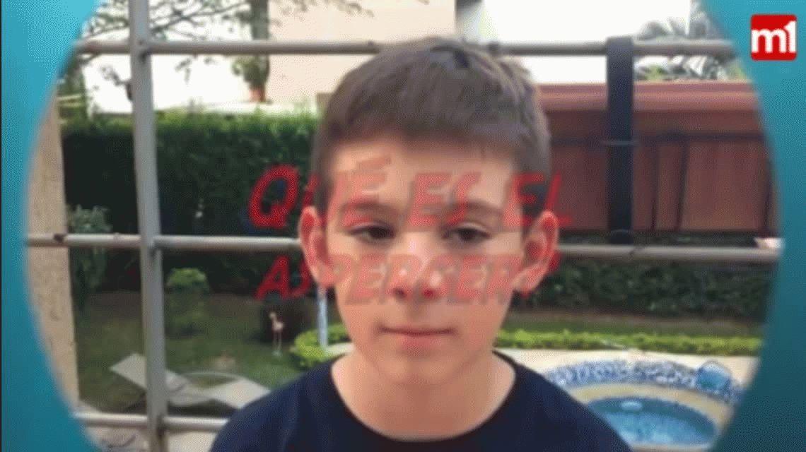 El conmovedor relato de un nene con Asperger: Es parte de mí