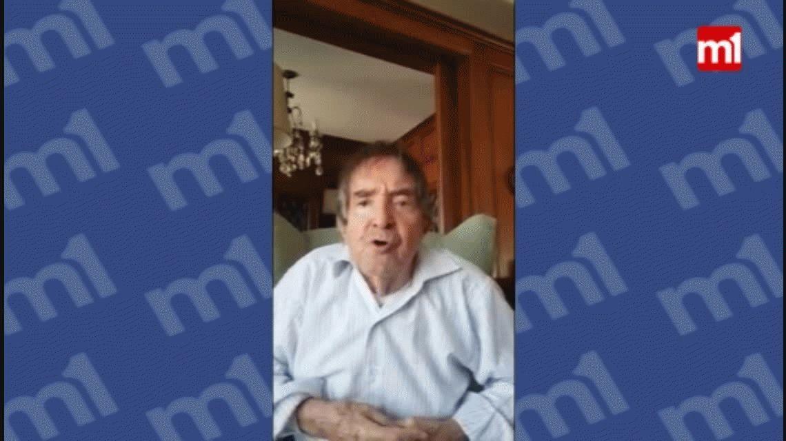 Carlitos Balá mandó un mensaje por Navidad: le pidió a Macri cambiar la sal