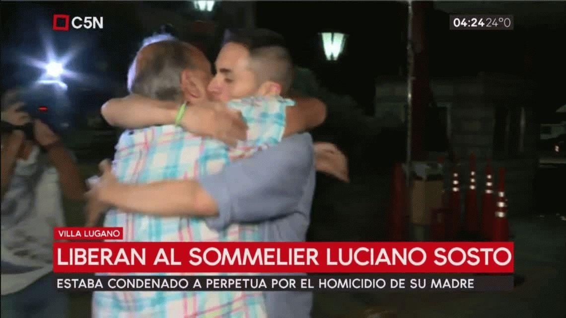 Absolvieron y liberaron a Luciano Sosto, el sommelier condenado por asesinar a su madre