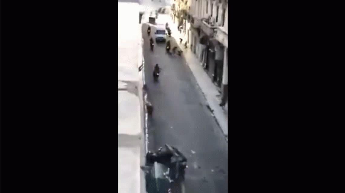 Represión en el Congreso: liberaron al policía que atropelló a un joven