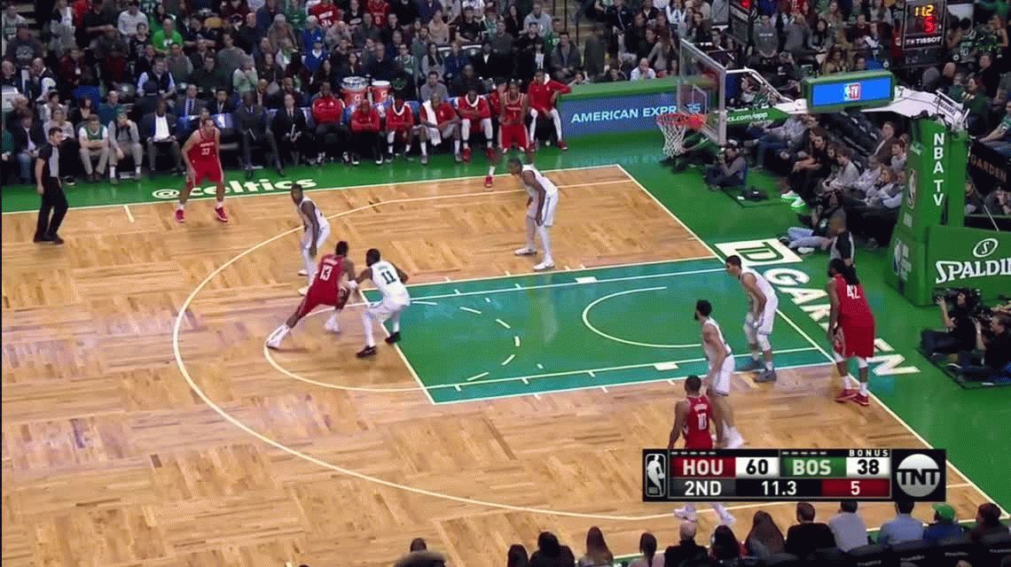 ¡A lo Space Jam! No vas a poder creer esta jugada de Harden en la NBA