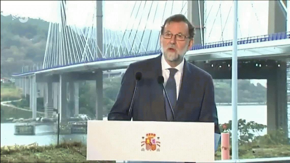 Rajoy dio un mensaje de fin de año y deseó lo mejor para el  2016