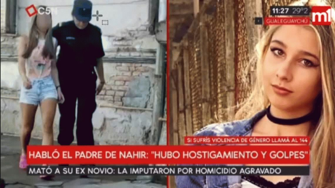 Golpes, hostigamiento y obsesión: la relación enfermiza entre Nahir y Fernando