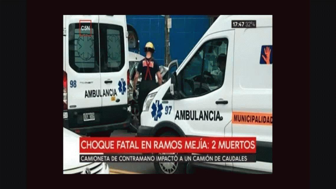Trágico accidente en Ramos Mejía: perdió en control de la camioneta y atropelló a un hombre