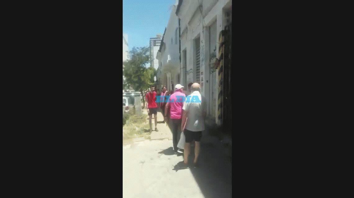 Efecto Sampaoli: un hombre insultó a un inspector en La Plata