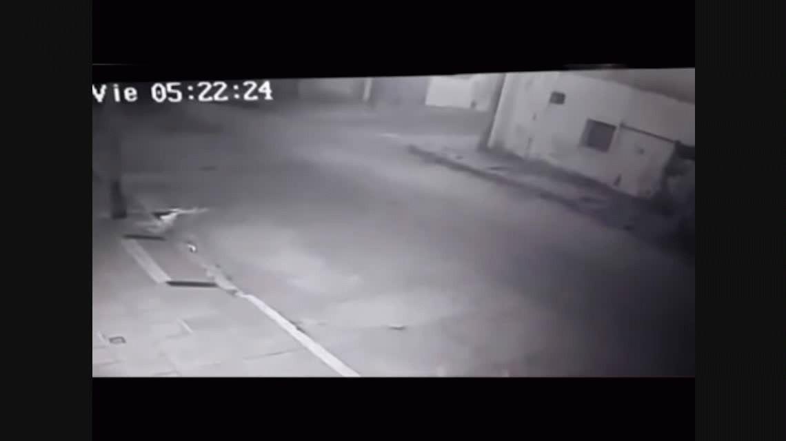 VIDEO: Así se fue Nahir Galarza de la escena del crimen