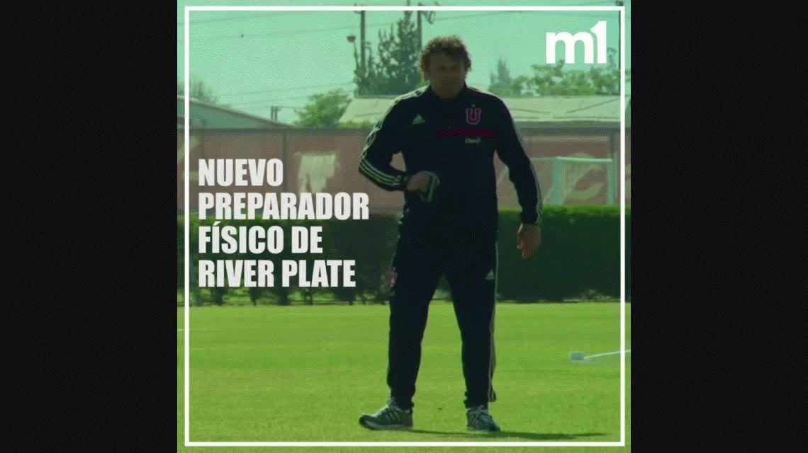 Cometeló: así trabaja el intenso nuevo preparador físico de River, Marcelo Tulbovitz