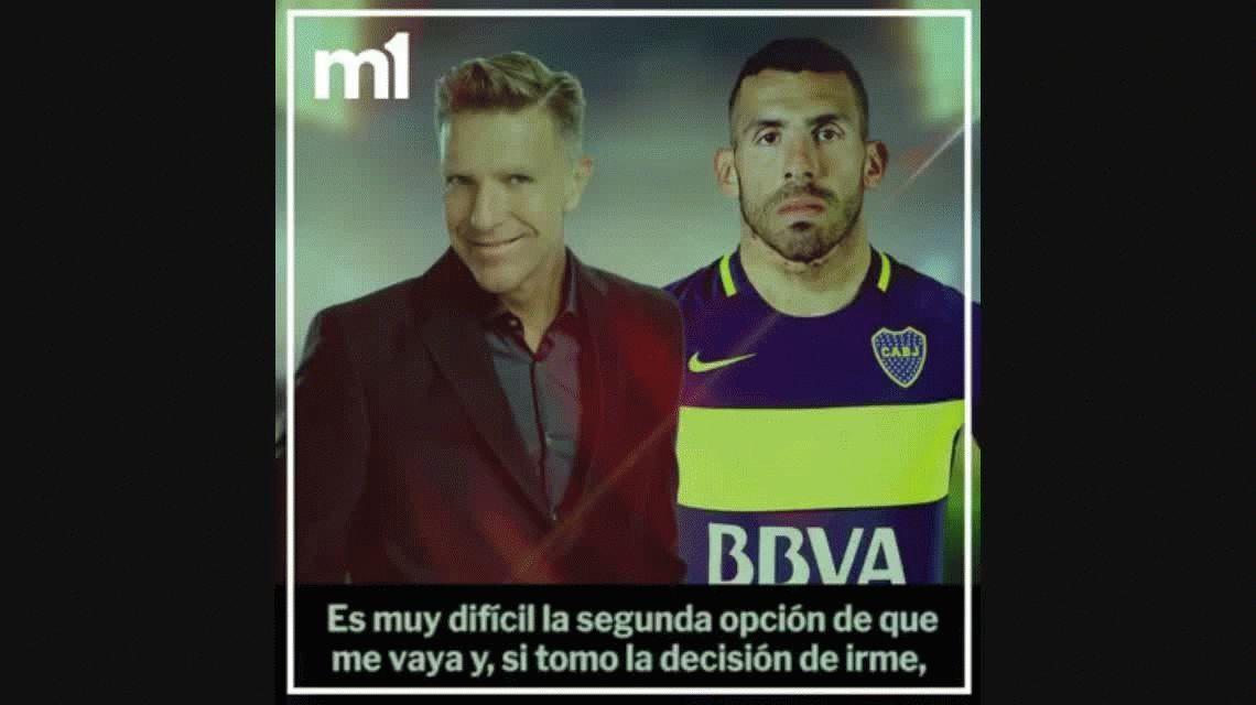 Esto es Boca: una frase que dijo antes de irse condena a Tevez en su regreso al Xeneize