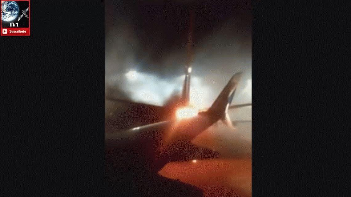 Choque de aviones en Toronto