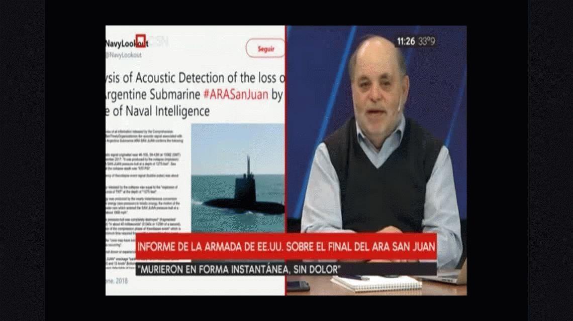 ARA San Juan: familiares de los tripulantes no creen en el informe de EEUU
