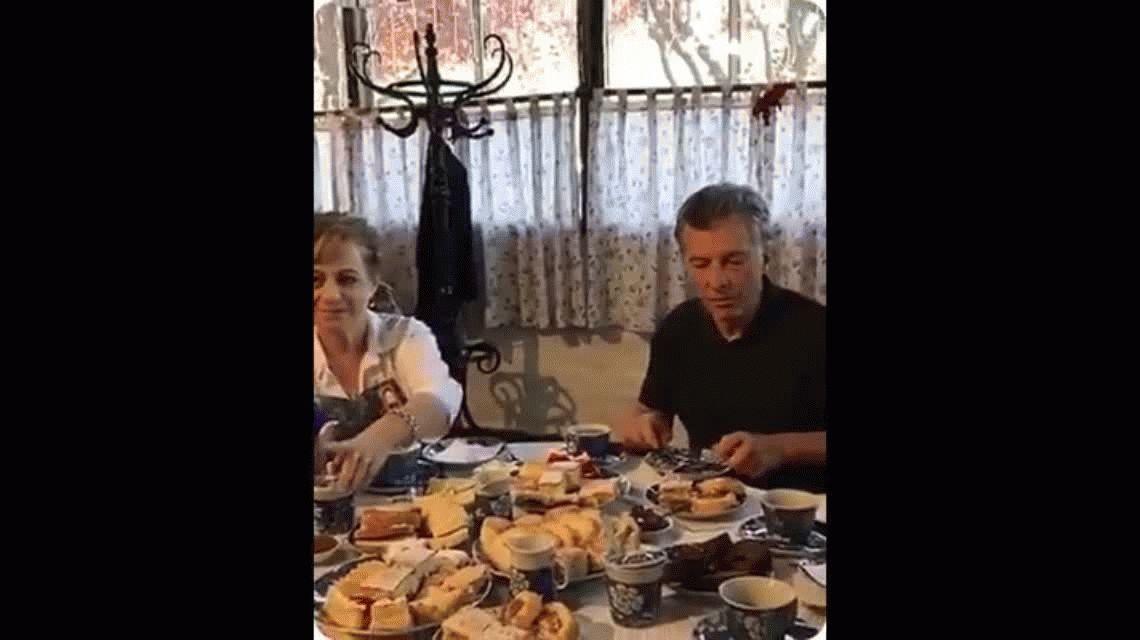 El té casual de Macri, otra escena montada por Cambiemos