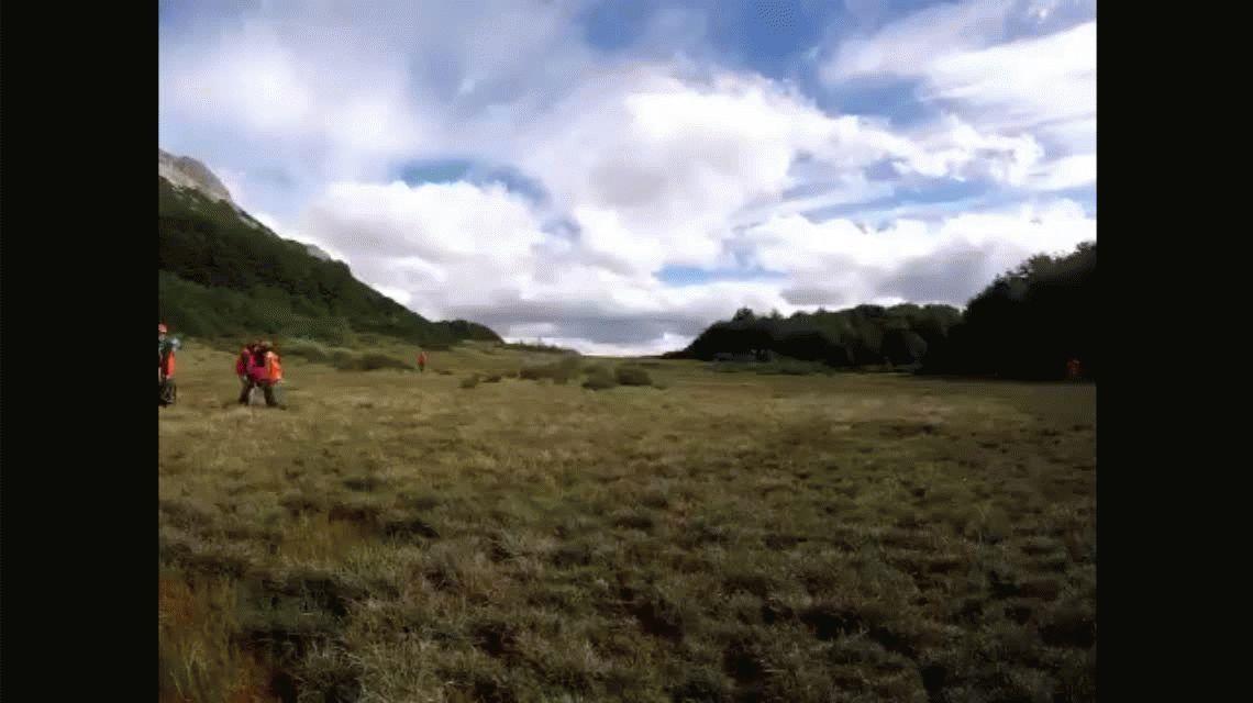 Cereales, queso y frutas: la dieta que le permitió al mochilero sobrevivir en la montaña
