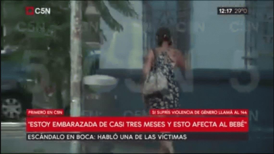 Habló una de las mujeres que denunció a los jugadores de Boca: Fui maltratada y golpeada, no violada