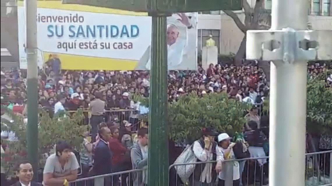 Se esperan un millón de fieles en la misa de cierre del Papa en Lima