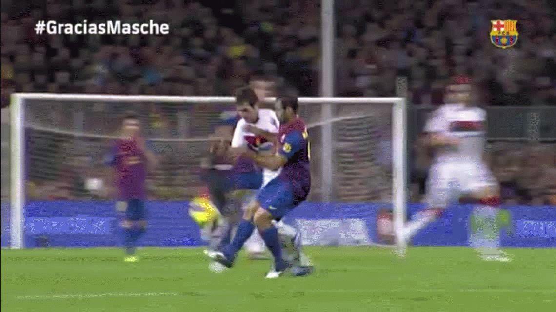Barcelona oficializó la salida de Mascherano: será compañero de Lavezzi en China