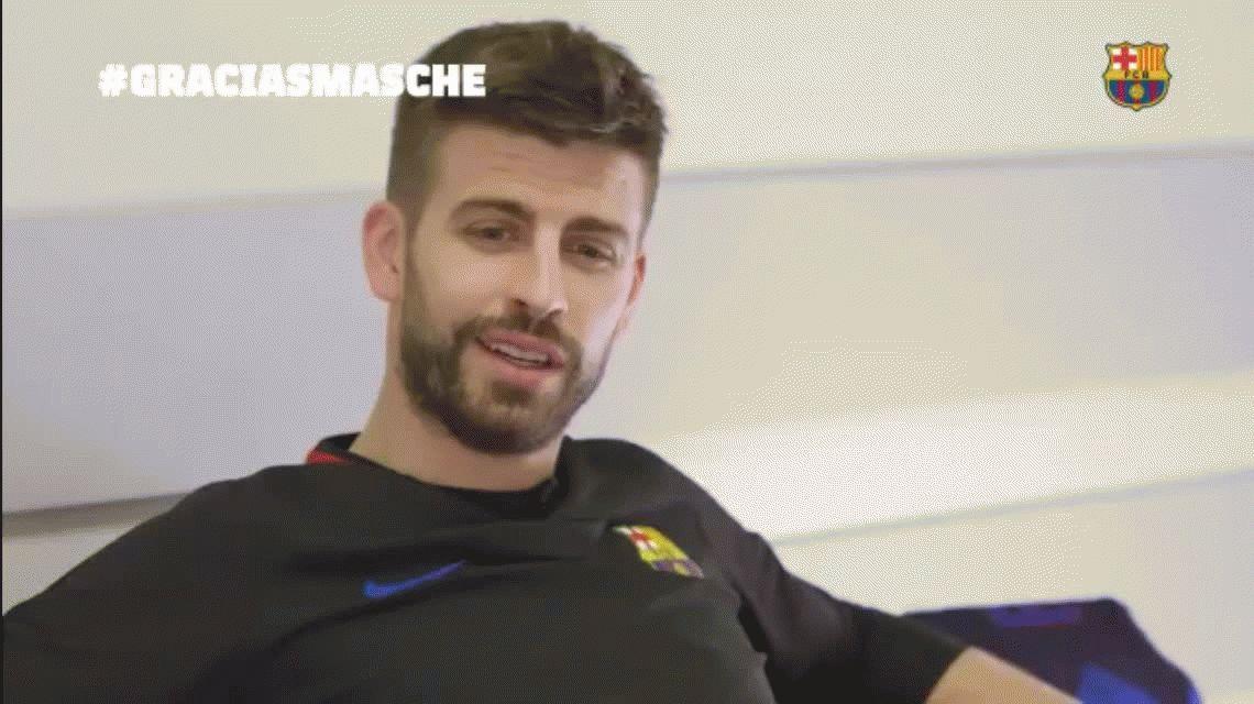 Imposible no emocionarse: el mensaje de los jugadores del Barcelona a Mascherano