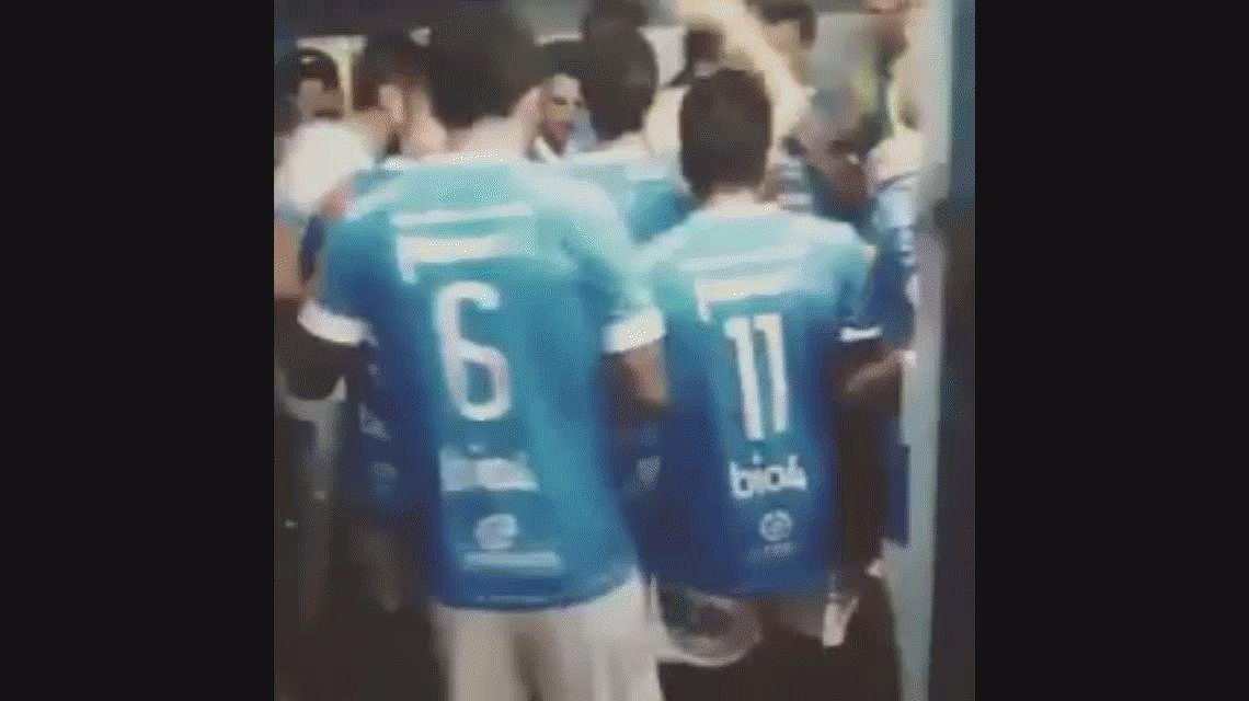 Conmovedor: la arenga de Pablo Aimar en la previa de su partido despedida