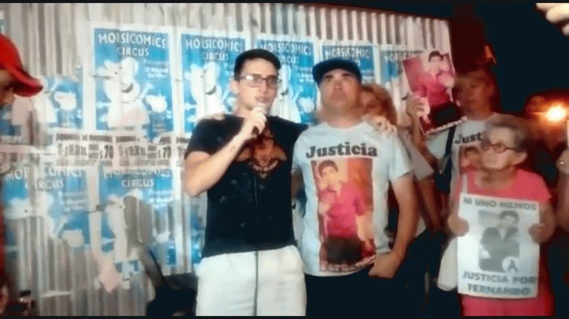 No lo ensucien, el lema de la marcha por Justicia a un mes de la muerte de Fernando Pastorizzo