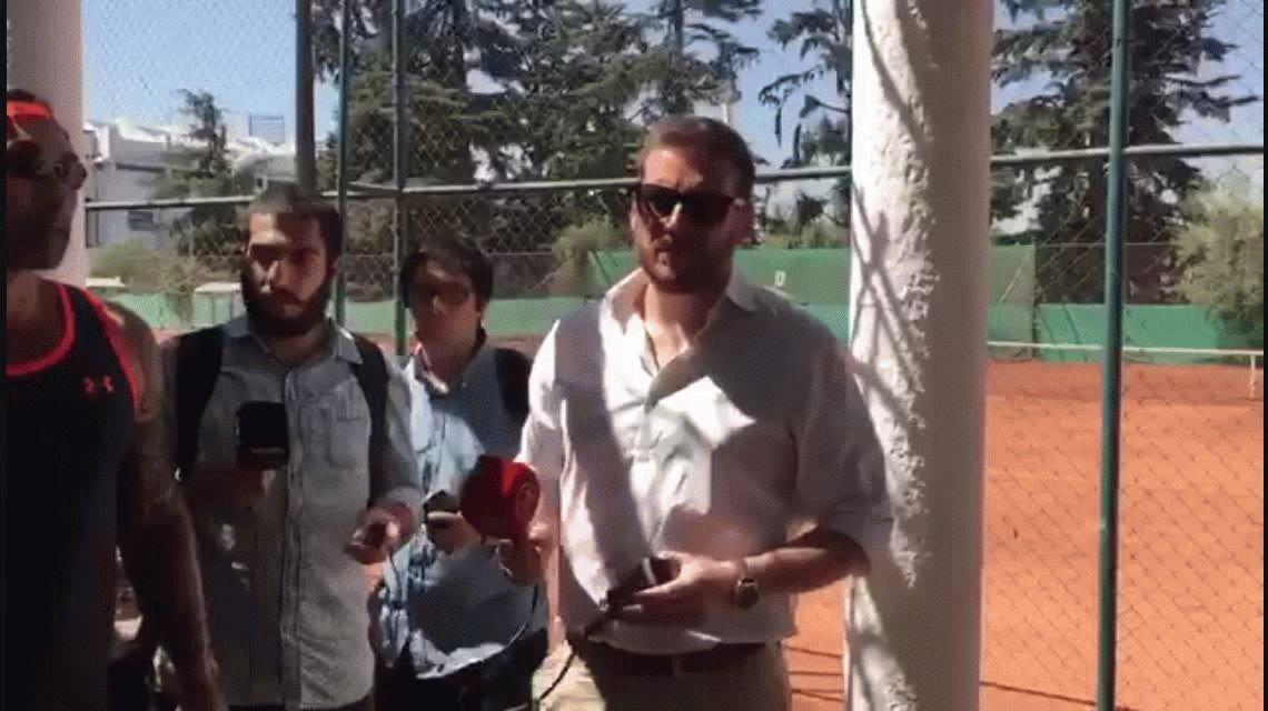 El Chino Ríos emuló a Maradona y se le plantó a los periodistas: Que la chupen todos ustedes