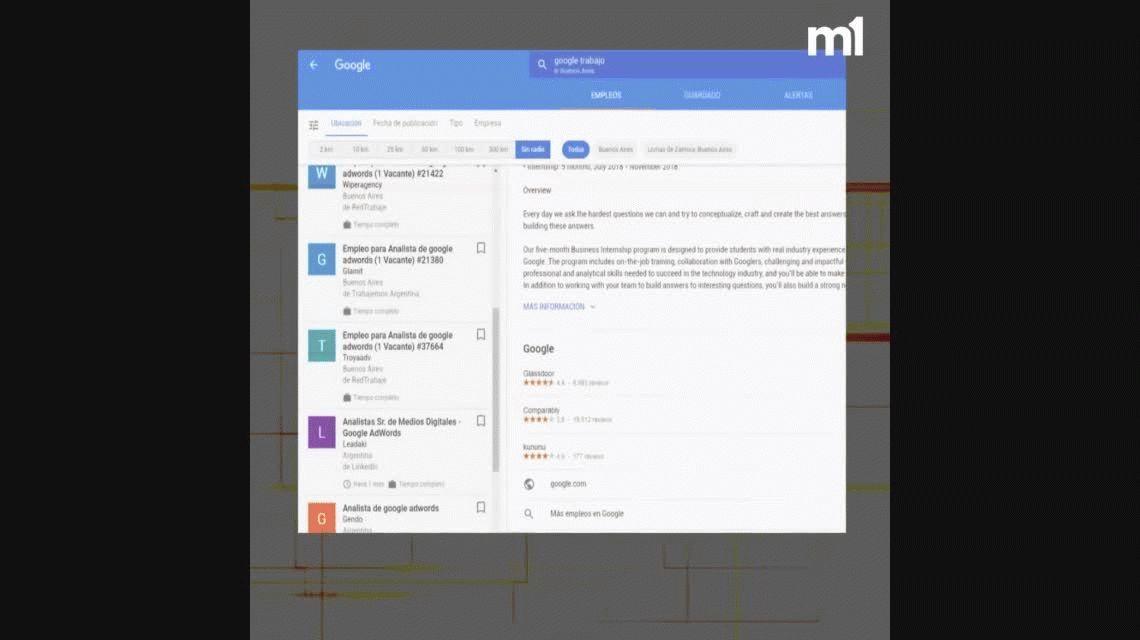 Google y la nueva característica que tiene como fin buscar tu nuevo trabajo