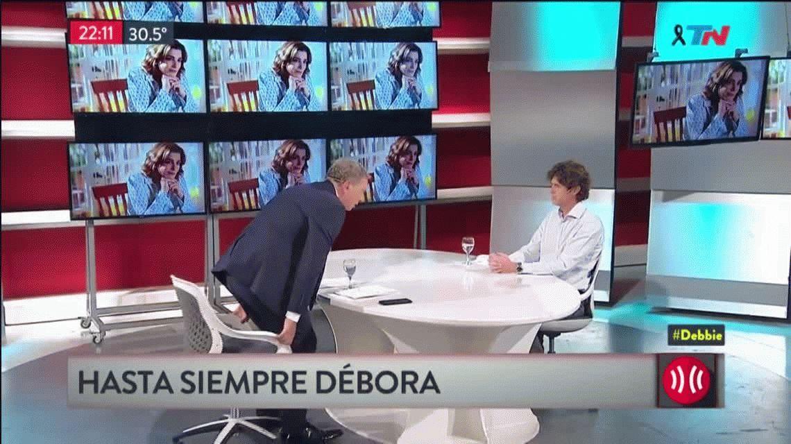 Las lágrimas de Martín Lousteau, el jefe político de Débora Pérez Volpin