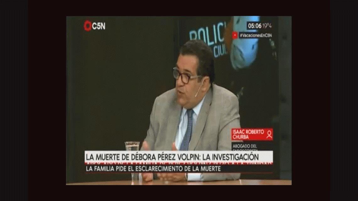El abogado del endoscopista dice que Débora Pérez Volpin no estaba sana